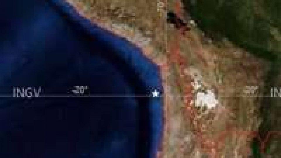 Cile: nuova scossa di magnitudo 7.8
