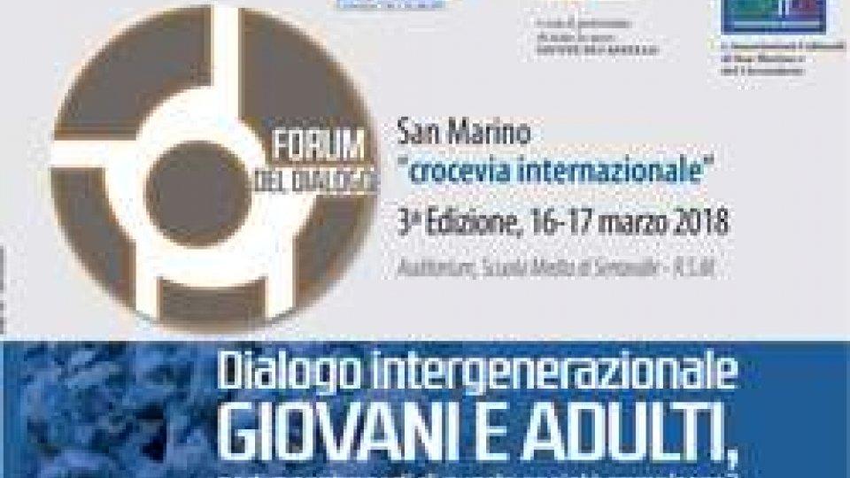 3° edizione del Forum del Dialogo