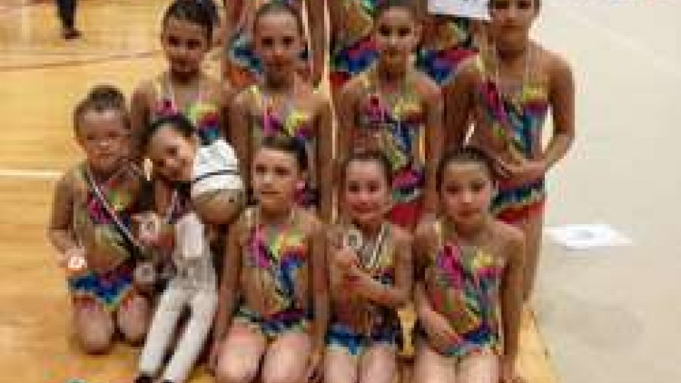 Società Sportiva Ginnastica San Marino: ultime gare dell'anno