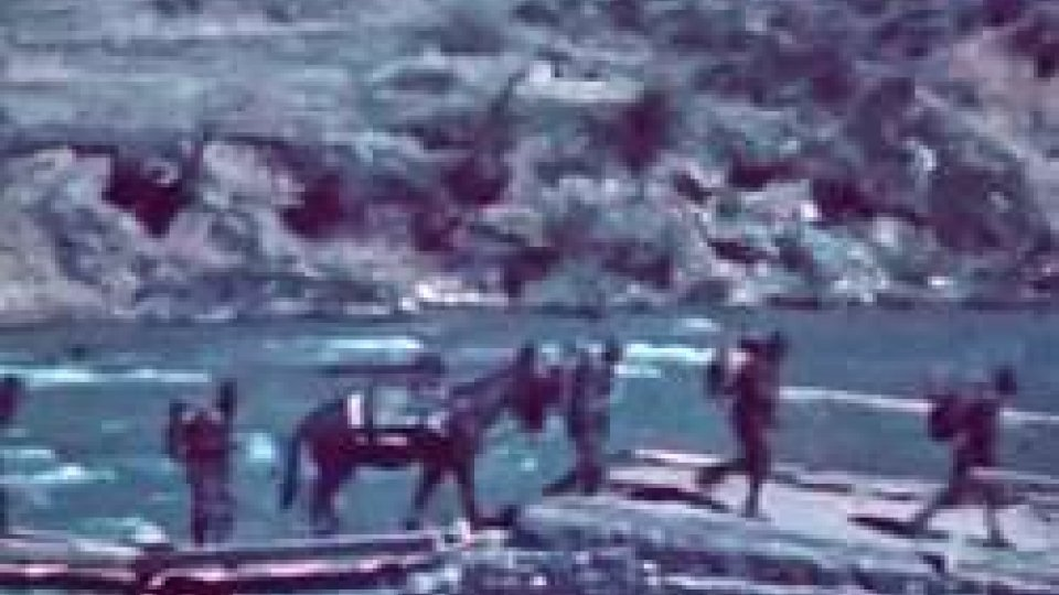 """Una scena del documentario<strong>PARTIZANI! </strong>Il Montenegro dei """"garibaldini"""" rossi vicini a Tito"""