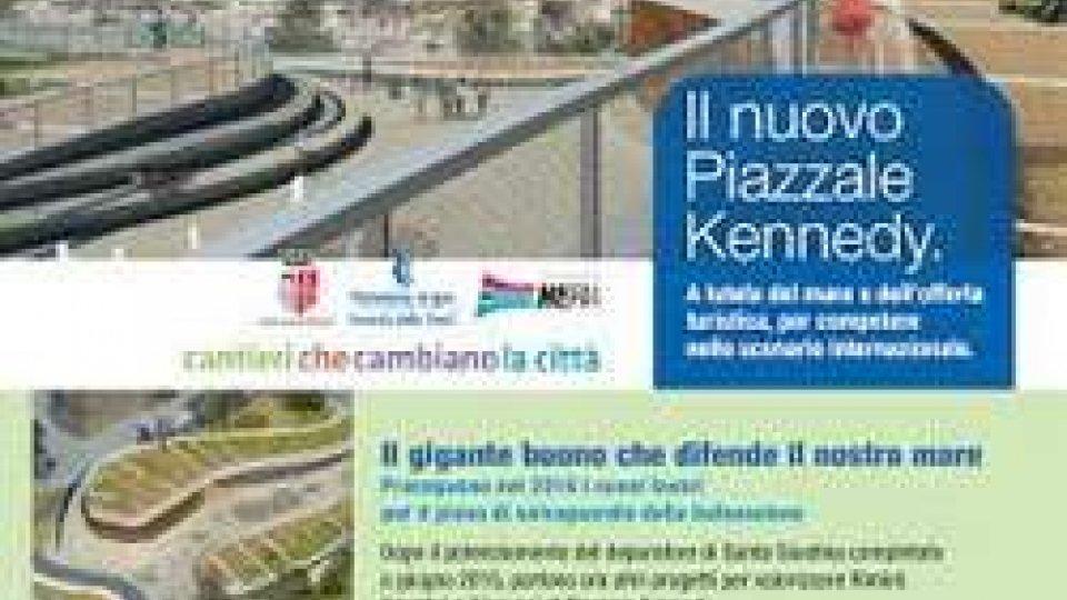 PSBO: avanti senza sosta i lavori su Piazzale Kennedy