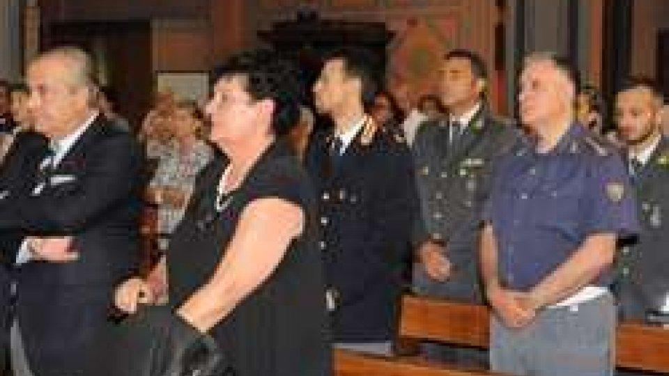 27° ANNIVERSARIO DELLA MORTE DEL SOVR. DELLA POLIZIA DI STATO ANTONIO MOSCA