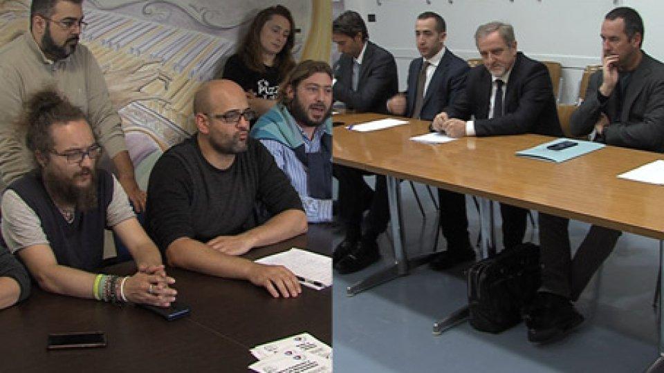 """Conferenze PDCS e DIMDimissioni Celli, opposizioni all'attacco: """"Discorso gravissimo"""". Dim annuncia manifestazione sul Pianello"""