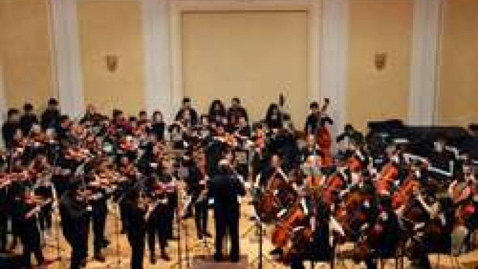 """Amici in Musica! Concerto dell'Orchestra Giovanile """"Playday"""" nata dal gemellaggio tra l'Istituto Musicale Sammarinese e alcune scuole di musica trentine"""