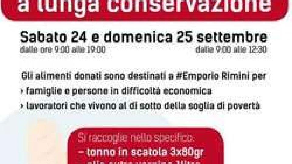 Sabato 24 e Domenica 25 Settembre raccolta alimenti pro #EmporioRimini.