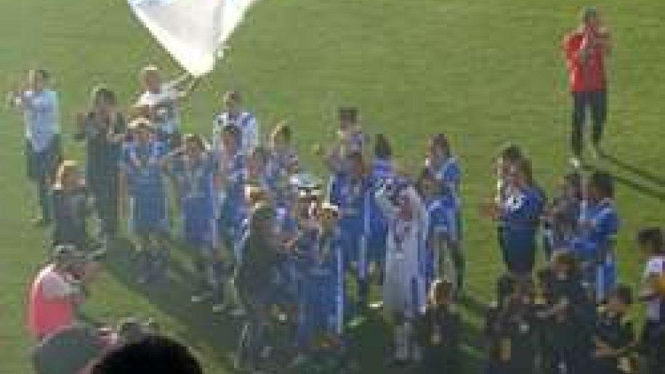 La vittoria del BresciaCalcio femminile: il triplete del Brescia