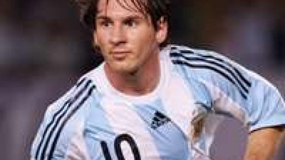 Calcio: niente Italia-Argentina per Messi