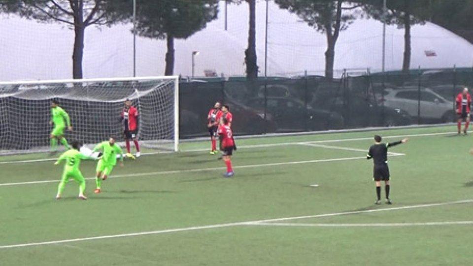Il gol di D'EliaCampionato sammarinese: Tre Penne e Juvenes/Dogana a punteggio pieno nel Q2