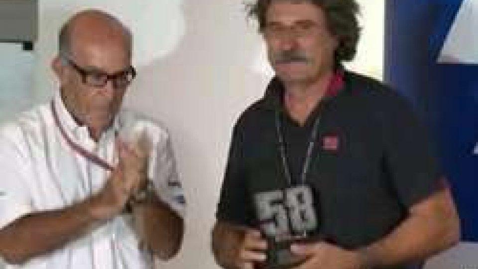 #SanMarinoGP: ritirato il numero 58 di Simoncelli#SanMarinoGP: ritirato il numero 58 di Simoncelli