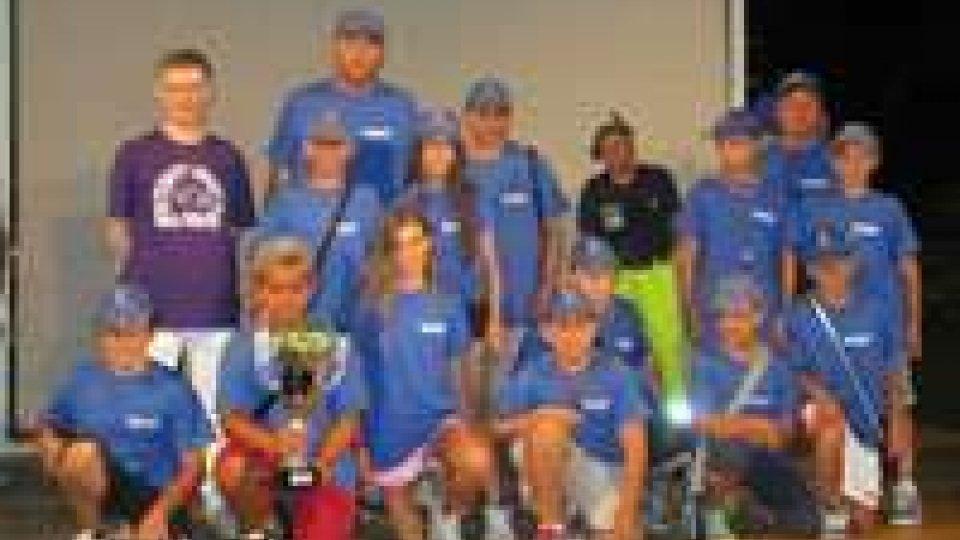 Baseball: i ragazzi di  San Marino settimi al 29 torneo internazionale di Sala Baganza