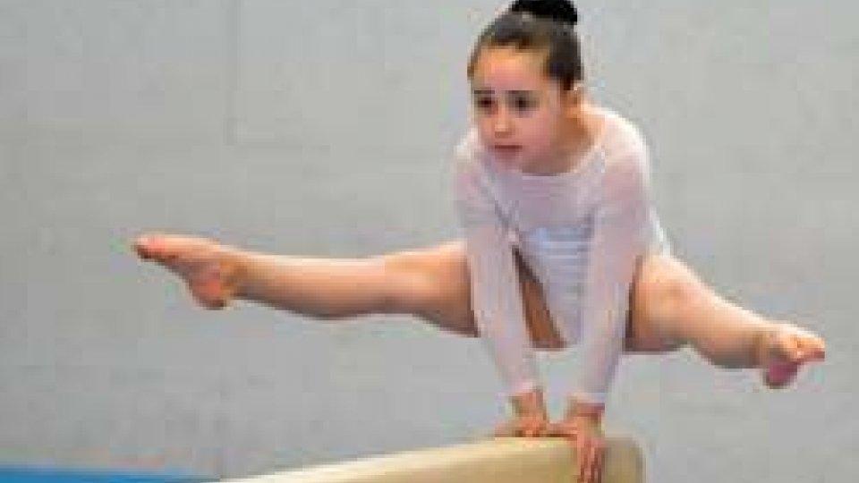 Ginnastica artistica: bene le atlete dell'accademia della ginnastica di San Marino