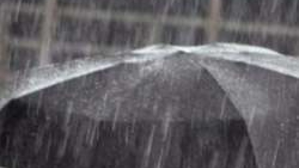 Pioggia nel Nord Italia