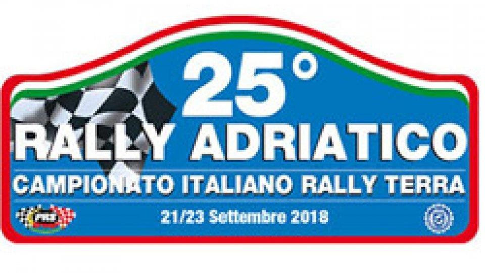 Scuderia San Marino all'assalto del 25° Rally Adriatico
