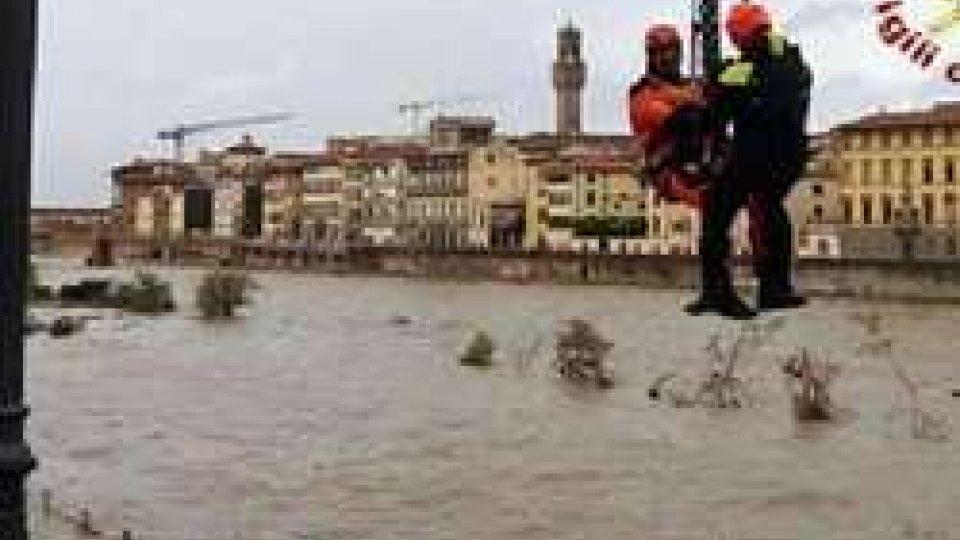 la piena dell'Arno