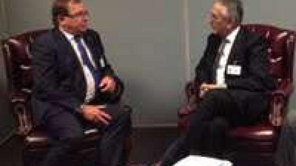 Valentini all'OnuOnu: Incontri bilaterali per segretario Valentini