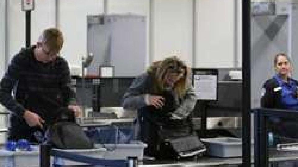 USA: paura terrorismo, pc e tablet viaggiano solo in stiva