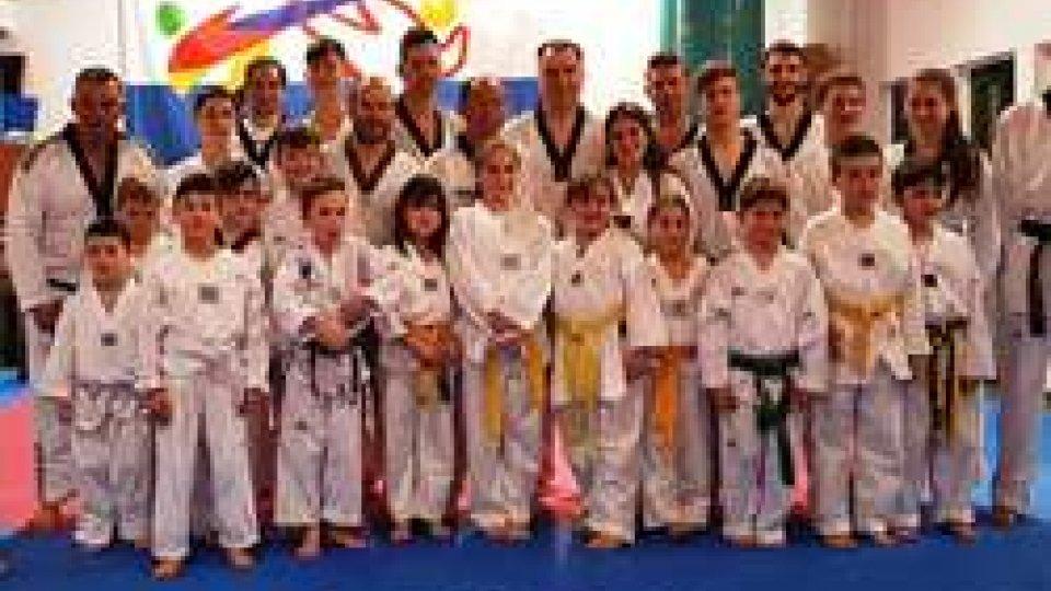 Taekwondo: esami per gli atleti sammarinesi