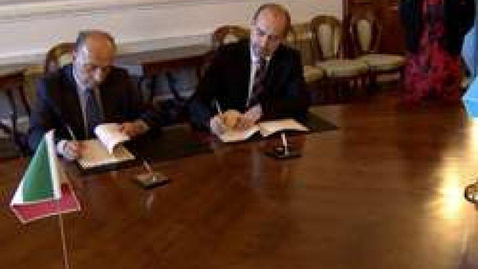 Firmato il Protocollo Operativo sulla collaborazione sanitaria e socio-sanitaria San Marino ed Emilia-Romagna