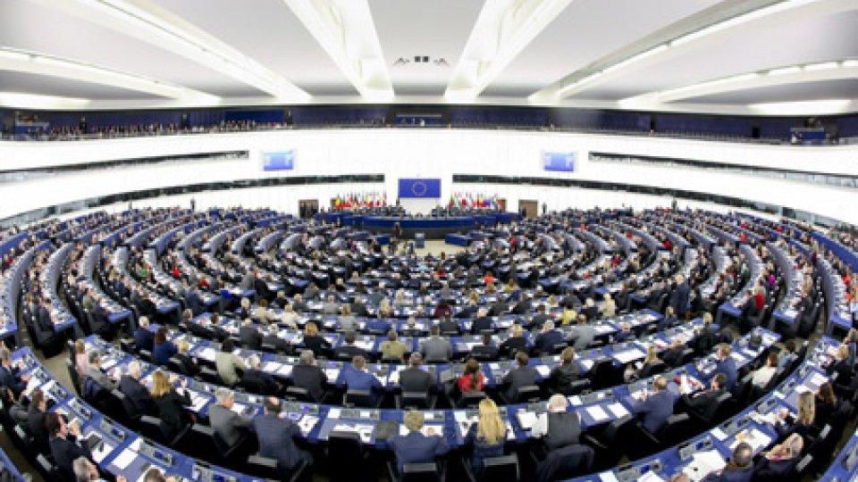 Parlamento europeo. Foto ansa