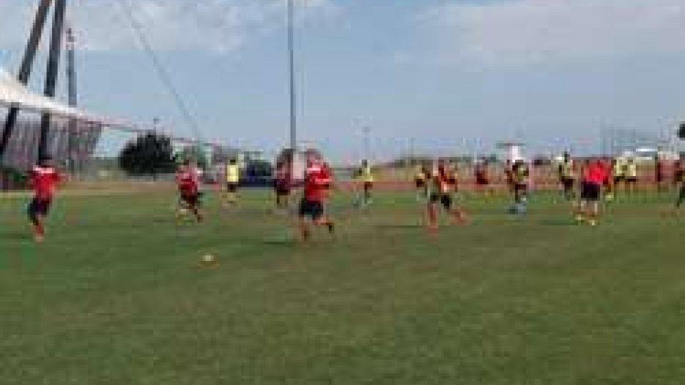 allenamento Rimini