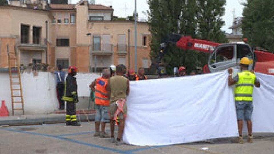 Rimini: operaio cade nelle cisterne del depuratore e fa un volo di 4 metri