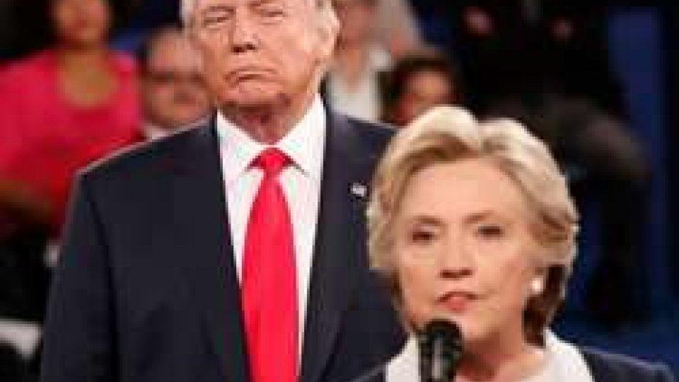 Trump e Clinton
