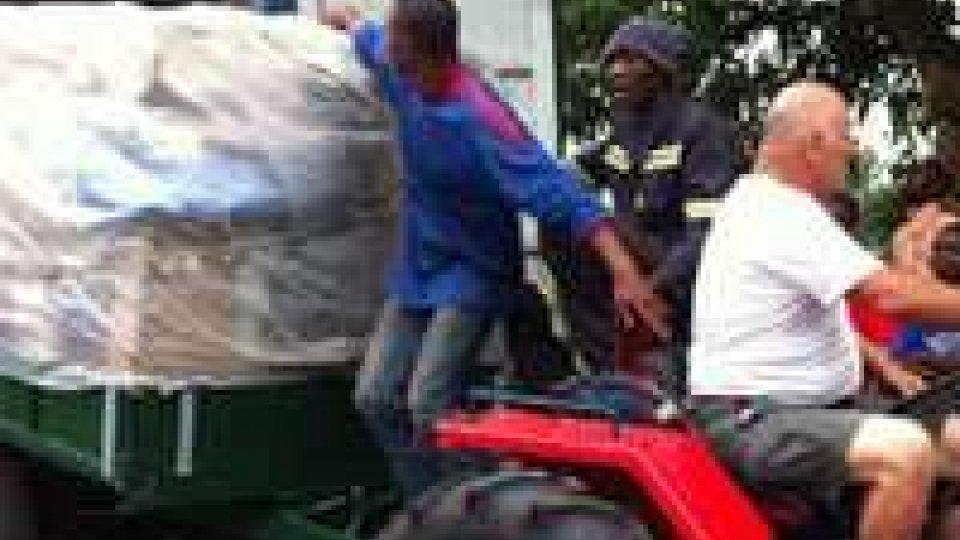 Congo: arrivati due container sammarinesi destinati alla missione di Padre Marcellino