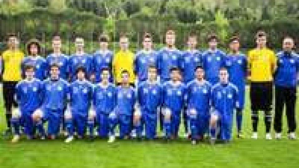 Nazionale Under 18: San Marino - Inghilterra 0-2