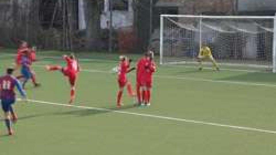 San Marino Academy San BonifacioIncredibile vittoria della San Marino Academy sulla capolista Pro San Bonifacio. Da 0-2 a 3-2