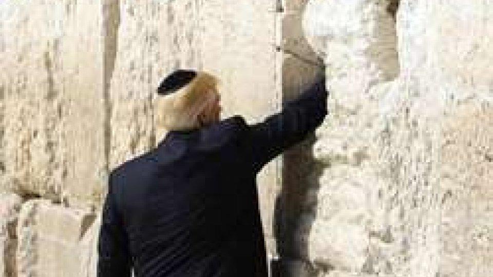 """Trump in Israele: """"la pace ha una chance"""""""