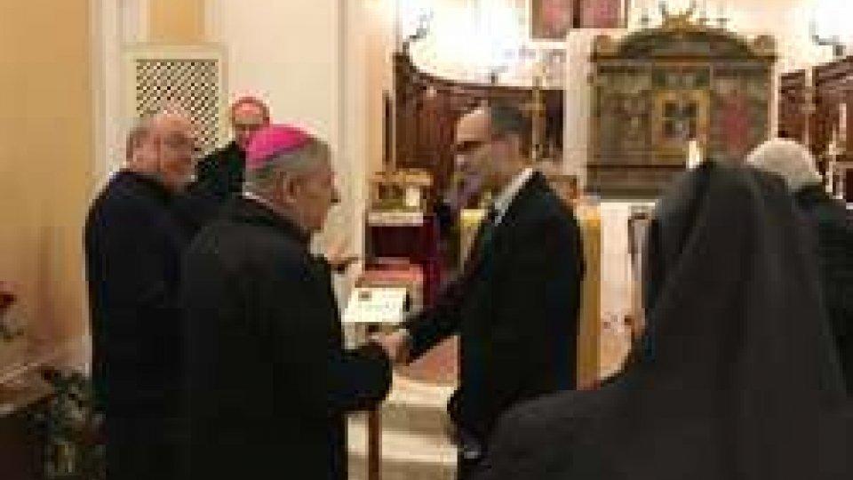 Diocesi Monache Adorazione Eucaristica: ieri il segretario di Stato Renzi alla Messa in occasione del decennale