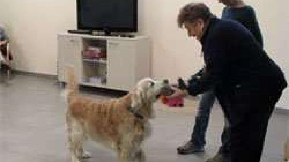 Alla Rsa La Fiorina prende vita un progetto di Pet Therapy