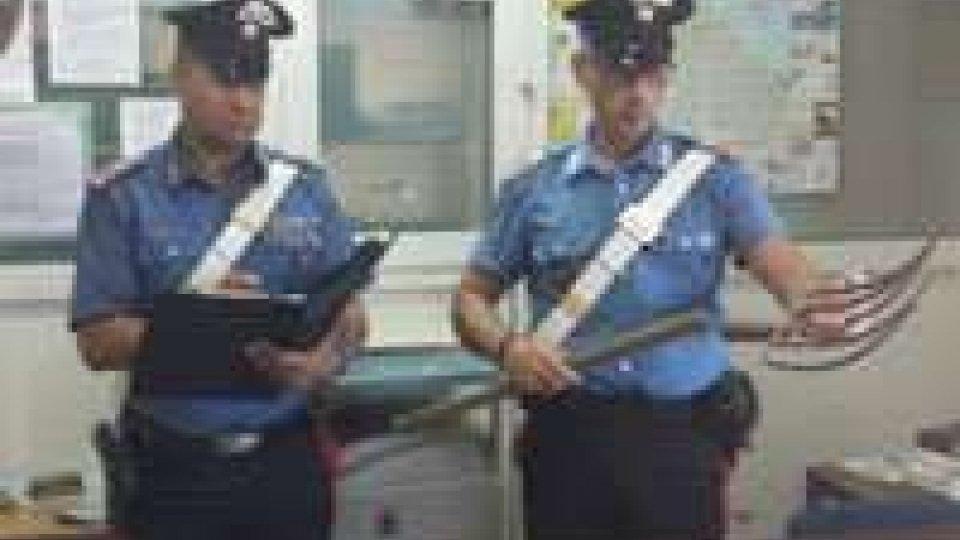 Santarcangelo: convalidato l'arresto del marcchino che ha minacciato moglie e figlia