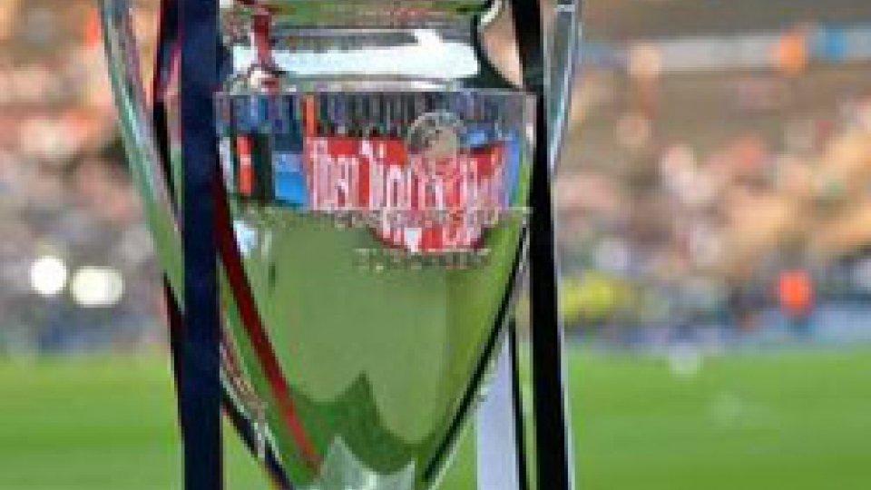 Champions: stasera la seconda giornata; in campo anche Juve e Roma