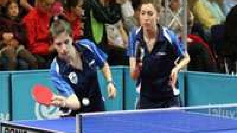 Tennis Tavolo - Giardi e Boffa Bronzo nel doppio