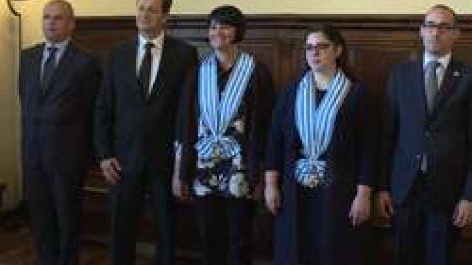 Cinque nuovi Ambasciatori hanno presentato oggi le proprie Lettere Credenziali