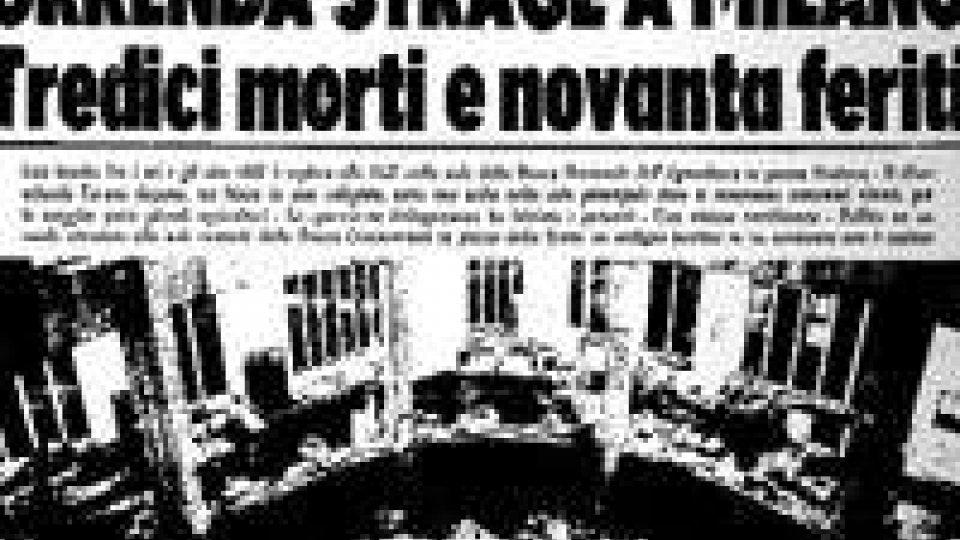"""Piazza Fontana 45 anni dopo: la """"madre di tutte le stragi"""""""