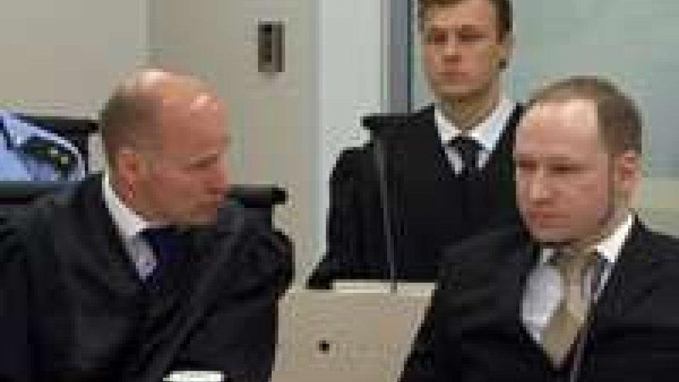 """Strage Norvegia, Anders Breivik: """"Lo rifarei"""""""