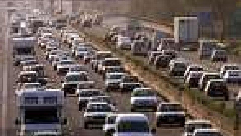 Traffico intenso per il controesodo
