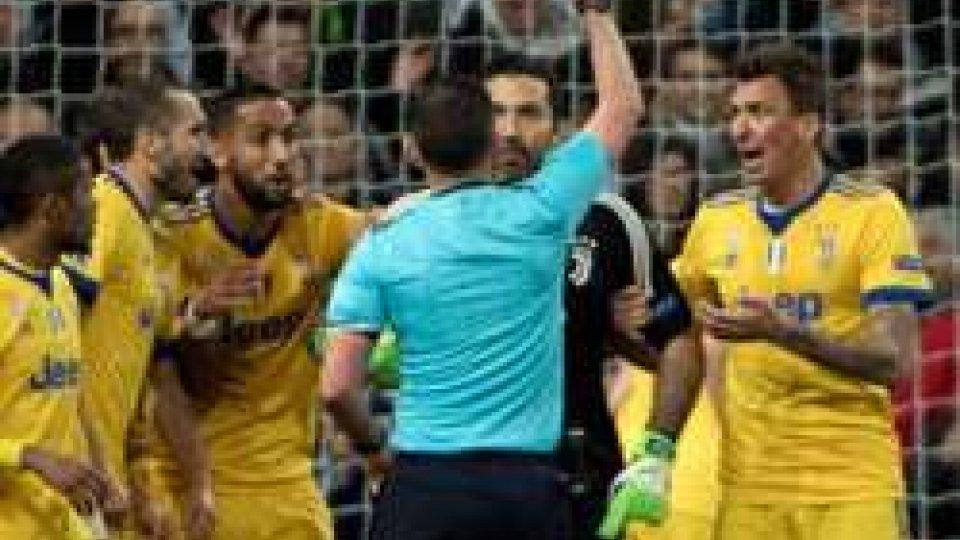 cartellino rosso a BuffonJuve beffata a Madrid: intervista  a Chiellini e Buffon