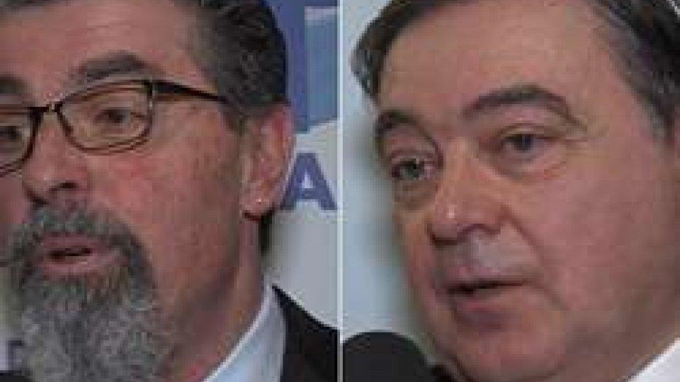 Giuliano Tamagnini e Riccardo StefanelliCsu: legge sviluppo favorisce i frontalieri