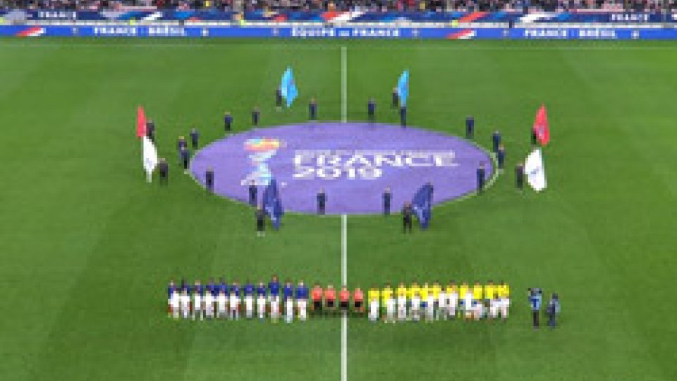 Femminile: Francia-Brasile 3-1