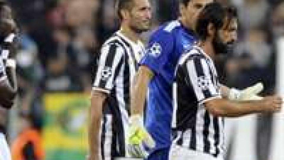 Champions: secondo pareggio per la Juve, Real a valanga sul Copenaghen