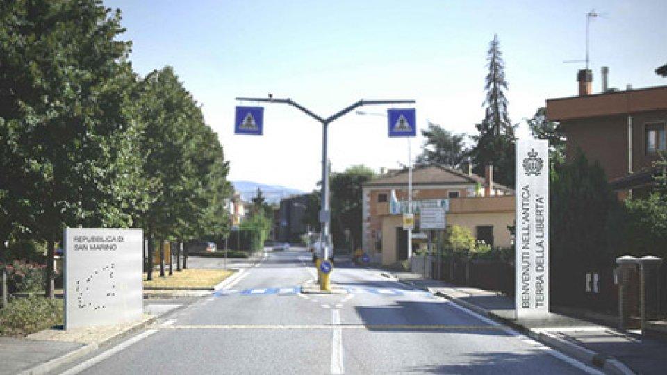 Anteprima di AcquavivaRestyling dei confini: ecco come saranno i nuovi portali d'accesso a San Marino