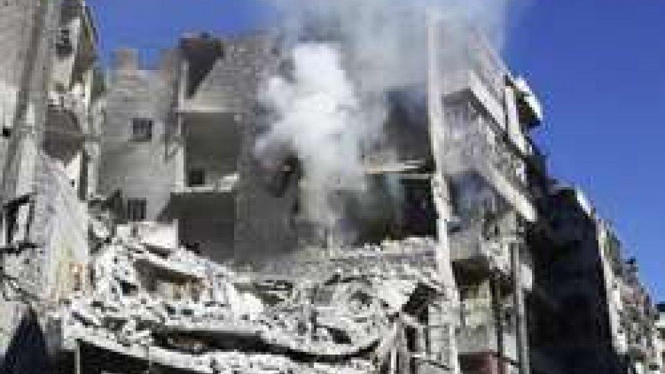 Siria: prossima al collasso la sacca ribelle di Aleppo estSiria: prossima al collasso la sacca ribelle di Aleppo est