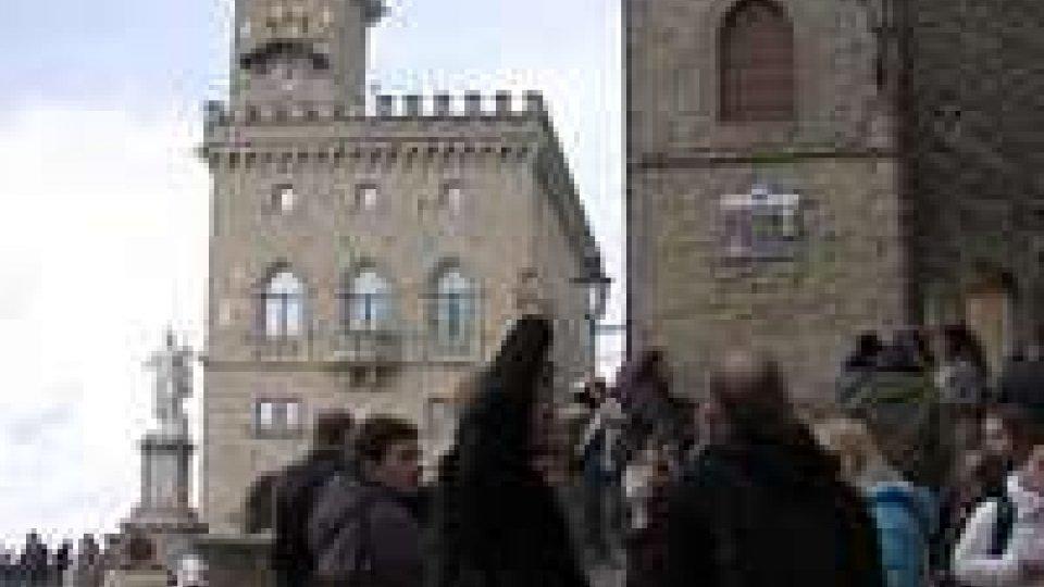 Discreto l'afflusso di visitatori in Repubblica e a RiminiDiscreto l'afflusso di visitatori in Repubblica e a Rimini