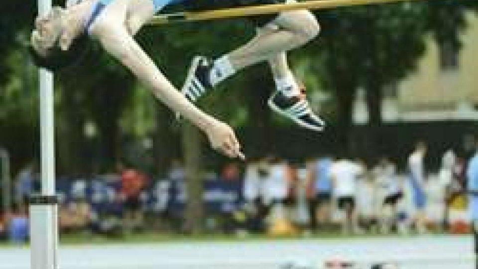 Atletica record del salto con l'asta per la Martina Muraccini, vittoria nel salto in alto per Eugenio Rossi
