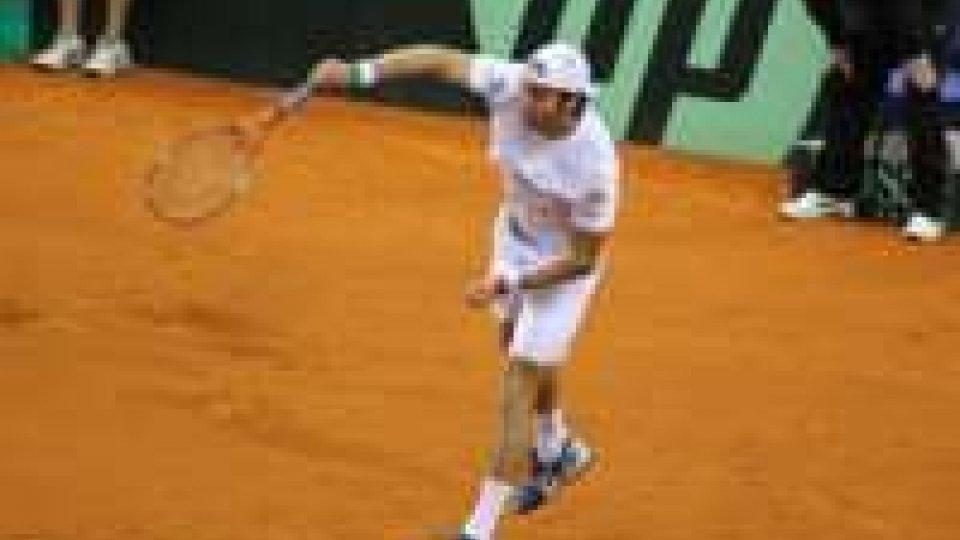 Coppa Davis: Lorenzi cede al quinto contro Cilic