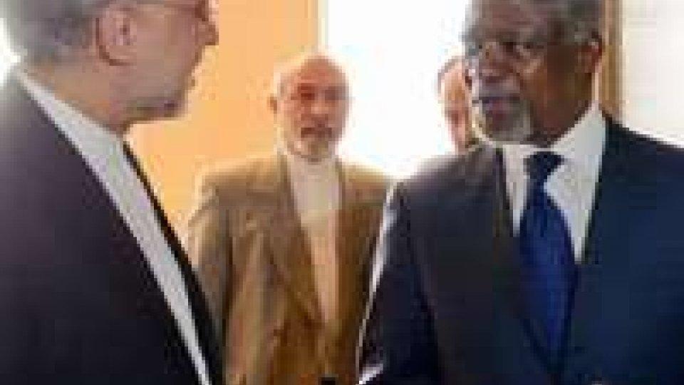 """Siria. """"Il massacro deve terminare. E' fondamentale che ONU e Lega Araba parlino insieme"""""""