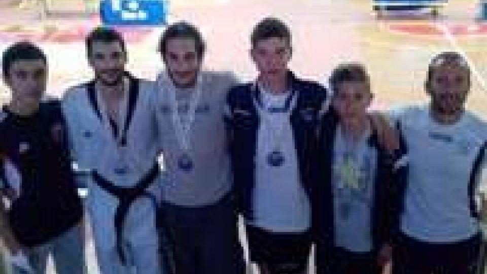 Taekwondo: medaglie sammarinesi agli Interregionali di Pisa